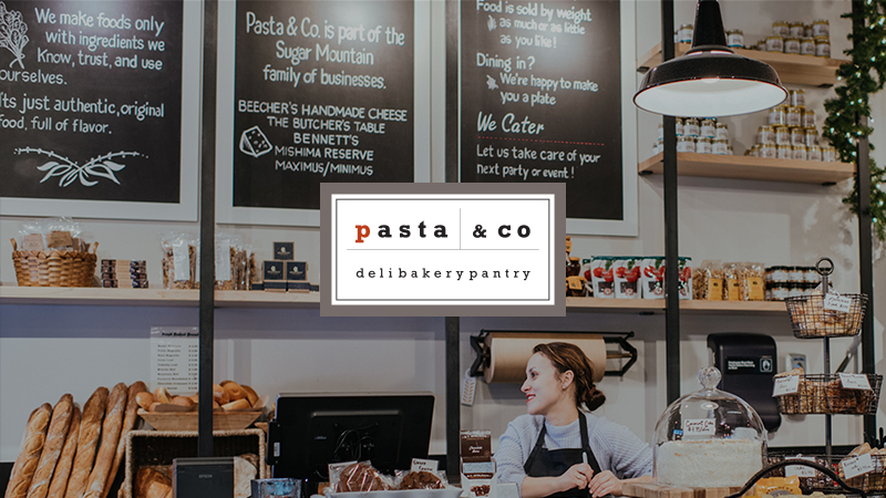 pasta and co server