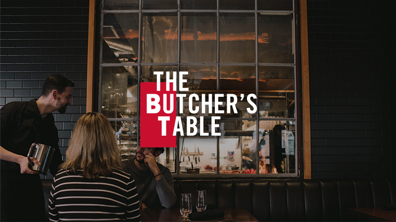 the butchers table restaurant server
